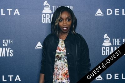 estelle in Delta Air Lines Kicks Off GRAMMY Weekend With Private Performance By Charli XCX & DJ Set By Questlove