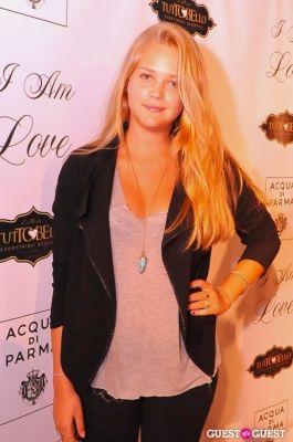 esti ginzburg in NY Premiere of I AM LOVE