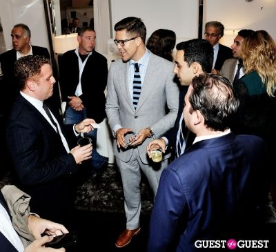 ryan bergman in Luxury Listings NYC launch party at Tui Lifestyle Showroom