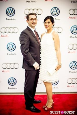 eual sigmon-and-mabel-sigmon in Volkswagen & Audi Manhattan Dealership Grand Opening