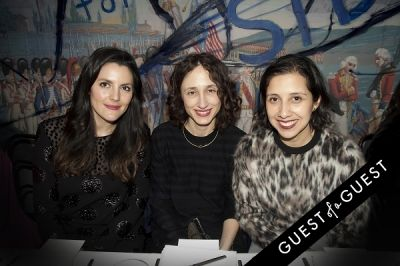 karla martinez-de-salas in Fausto Puglisi celebrates his Emanuel Ungaro FW15 Collection with an intimate dinner at Wallse