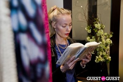eva fahler in HeTexted Book Launch Party
