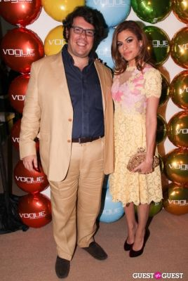 eva mendes in Vogue Eyewear Launch