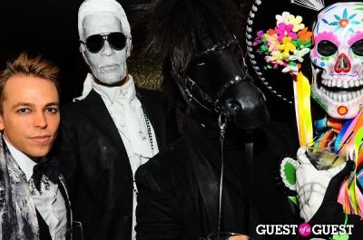 evan lenhoff in Patricia Field Aristo Halloween Party!