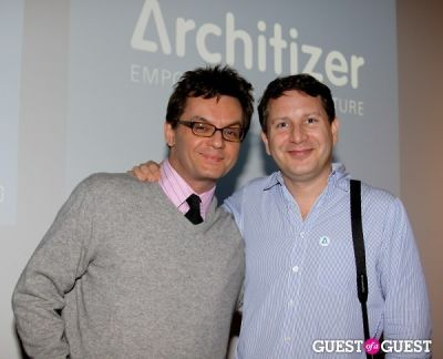 evan orensten in Architizer LA Launch Party