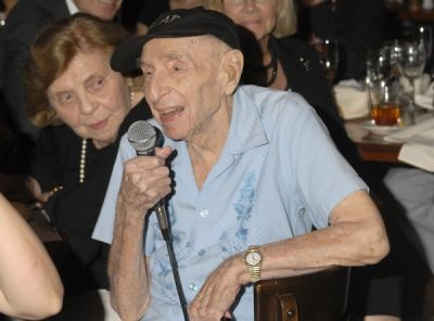 bernard bierman in Bernard Bierman's 101st Birthday Party