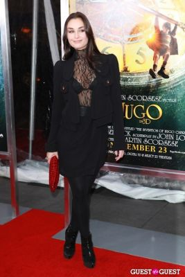 ewa da-cruz in Martin Scorcese Premiere of