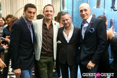 tim crout in Sergio Rossi Party at Bal Harbour Shops