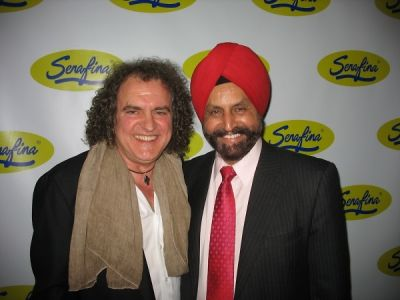 sant chatwal in Serafina UWS Opening Party