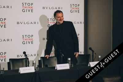 fabrizio ferri in BVLGARI Partners With Save The Children To Launch