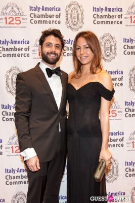 vanessa packer in Italy America CC 125th Anniversary Gala