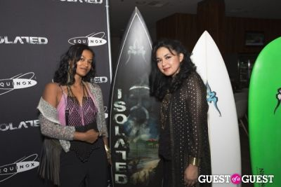 fahmina in ISOLATED Surf Documentary Screening at Equinox - Hosted By Ryan Phillippe