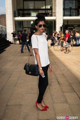 fatima rizwan in Post BCBG Show Street Style