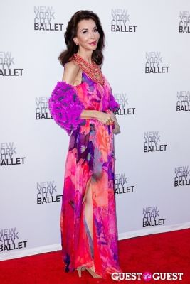 fe fendi in New York City Ballet's Fall Gala