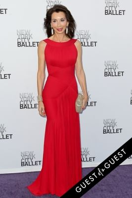 fe fendi in NYC Ballet Fall Gala 2014
