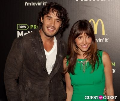 fernanda romero in McDonald's Premium McWrap Launch With John Martin and Tyga Performance