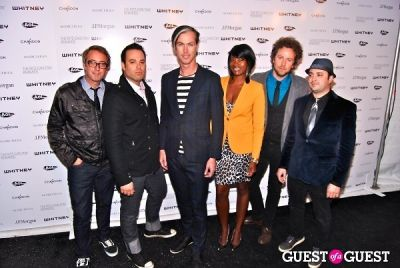 fitz and-the-tantrums in Whitney 2011 Studio Party