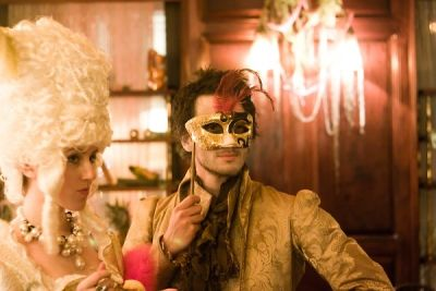 flavia masson in The Supper Club NY's Marie Antoinette Boudoir