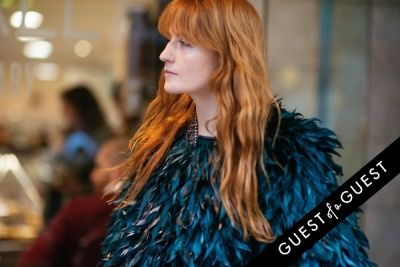 florence welch in London Fashion Week Pt 3