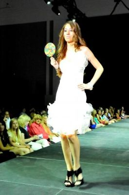 fortuna kaleci in DBJ 2nd Annual Benefit Fashion Show Event
