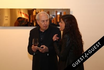 frances sinkowitsch in Dalya Luttwak and Daniele Basso Gallery Opening