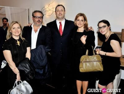 francesco farina in Luxury Listings NYC launch party at Tui Lifestyle Showroom