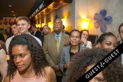 francesco granato in Serafina Harlem Opening