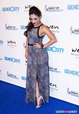 francia raisa in Generosity Water Presents