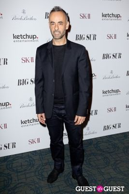 francisco costa in BIG SUR New York Movie Premiere