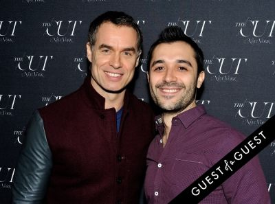 murray bartlett in The Cut - New York Magazine Fashion Week Party
