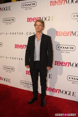 freddie stroma in 9th Annual Teen Vogue 'Young Hollywood' Party Sponsored by Coach (At Paramount Studios New York City Street Back Lot)
