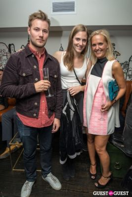 fredrick arrelid in H&M and Vogue Between the Shows Party