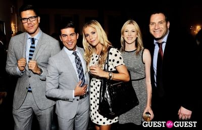 fredrik eklund in Luxury Listings NYC launch party at Tui Lifestyle Showroom