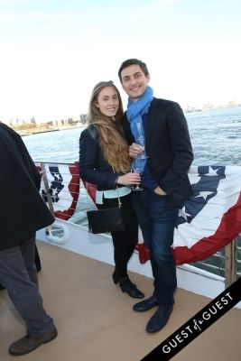 gabriela bravo in Hornblower Re-Dedication & Christening at South Seaport's Pier 15
