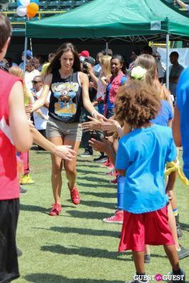 gabriela dias in 3rd Annual All-Star Kickball Game Benefiting Rising Stars of America