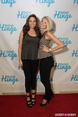 gabrielle bard in Arrivals -- Hinge: The Launch Party