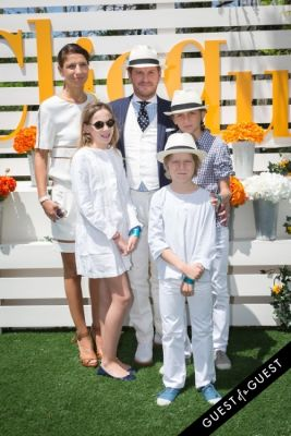 galliane de-lesquen in Veuve Clicquot Polo Classic 2014