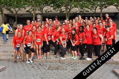 gaby gonzalez-smith in The 2015 American Heart Association Wall Street Run & Heart Walk