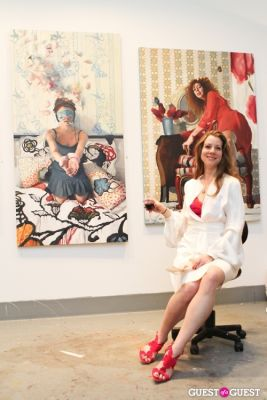 gaetanne lavoie in New York Academy of Art's 2013 Tribeca Ball