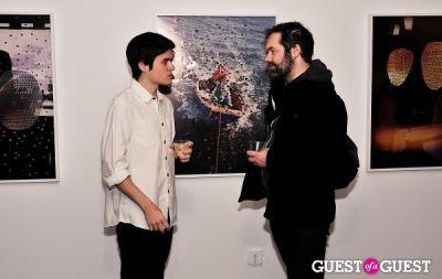 garrett pruter in Garrett Pruter - Mixed Signals exhibition opening