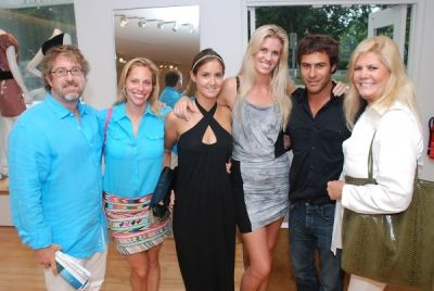 pam allardice in Amaryllis Equine Rescue Benefit at Intermix