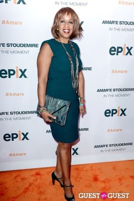 gayle king in Amar'e Stoudemire In The Moment Premiere