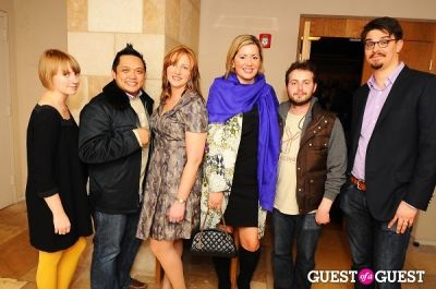 "geffrey yabes in Launch Party at Bar Boulud - ""The Artist Toolbox"""