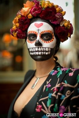 gemma gambee in Mara Hoffman & Pamela Love celebrate Halloween