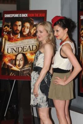 geneva carr in Opening Celebration for Theatrical Release of Rosencrantz and Guildenstern are Undead