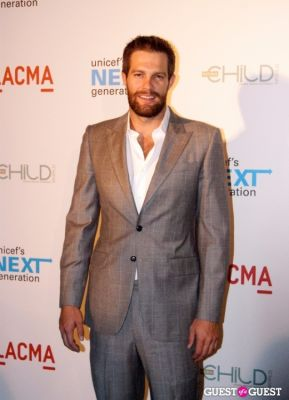 geoff stults in UNICEF Next Generation LA Launch Event