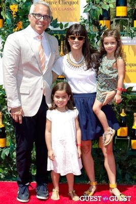 margaret anne-williams in Veuve Clicquot Polo Classic 2013
