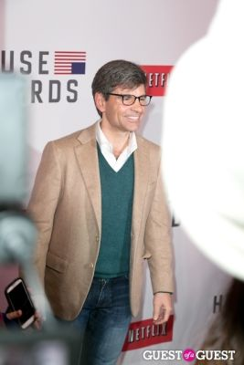 george stephanopoulos in Netflix Presents the House of Cards NYC Premiere