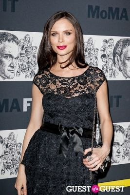 georgina chapman in Museum of Modern Art Film Benefit: A Tribute to Quentin Tarantino