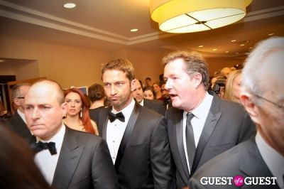 gerard butler in White House Correspondents' Dinner 2013